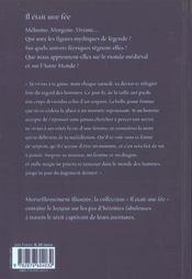 Mélusine - 4ème de couverture - Format classique