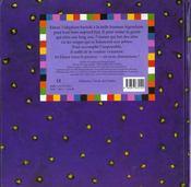 Le livre animé d'Elmer - 4ème de couverture - Format classique