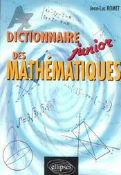 Dictionnaire Junior Des Mathematiques - Intérieur - Format classique