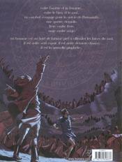 L'armee des anges t.3 ; la larme du diable - 4ème de couverture - Format classique