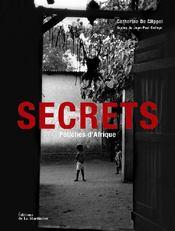Secrets ; fétiches d'Afrique - Couverture - Format classique