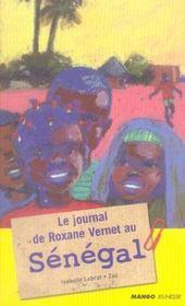 Le journal de roxane vernet au sénégal - Intérieur - Format classique