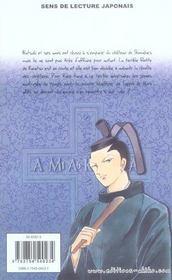 Amakusa 1637 T.9 - 4ème de couverture - Format classique