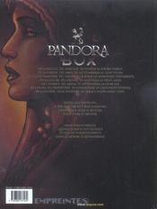 Pandora box t.6 ; l'envie - 4ème de couverture - Format classique
