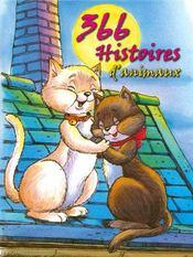 366 histoires d'animaux - Couverture - Format classique