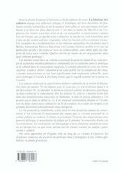 Revue Equinoxe T.24 ; La Fabrique Des Cultures : Geneve 1968-2000 - 4ème de couverture - Format classique