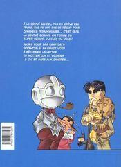 Sentai school - 4ème de couverture - Format classique