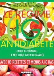 Le régime IG antidiabète - Couverture - Format classique