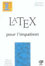 Latex pour l'impatient - Intérieur - Format classique
