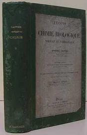 Chimie biologique - Intérieur - Format classique