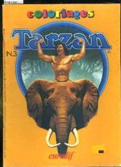 Coloriages Tarzan N° 3. - Couverture - Format classique