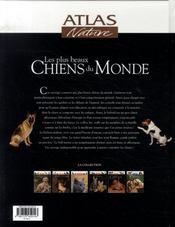 Les plus beaux chiens du monde - 4ème de couverture - Format classique