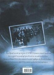 El niño t.4 ; les oubliées de Kra - 4ème de couverture - Format classique