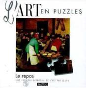 Art En Puzzle Repas - Couverture - Format classique