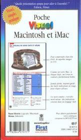 Macintosh Et Imac - 4ème de couverture - Format classique