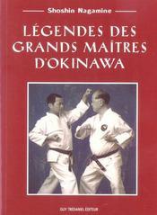 Legendes Des Grands Maitres D'Okinawa - Intérieur - Format classique