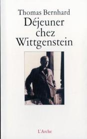 Dejeuner Chez Wittgenstein - Couverture - Format classique