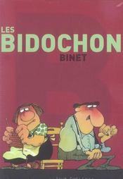 Coffret Les Bidochon 9v (Pf) - 4ème de couverture - Format classique