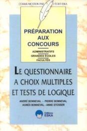 Questionnaire Choix Multiples - Couverture - Format classique