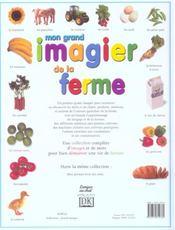 Mon Grand Imagier De La Ferme - 4ème de couverture - Format classique