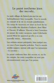 Mimi Et Vincent T.2 ; La Sorciere - 4ème de couverture - Format classique