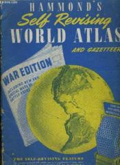 Hammond'S Self Revising World Atlas And Gazetteer. - Couverture - Format classique