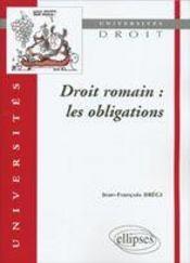 Droit Romain Les Obligations - Intérieur - Format classique