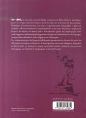 Bible-express illustrée - 4ème de couverture - Format classique