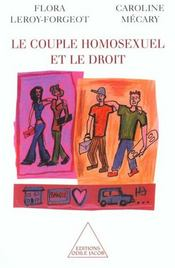Le Couple Homosexuel Et Le Droit - Intérieur - Format classique