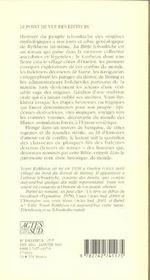 La Bible Tchouktche Ou Le Dernier Chaman D'Ouelen - 4ème de couverture - Format classique