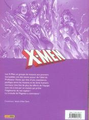 X-men ; la croisade de Magnéto - 4ème de couverture - Format classique