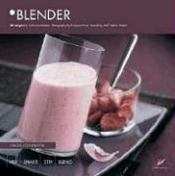 Blender version anglaise ; 50 recipes - Couverture - Format classique