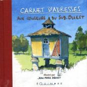 Carnet adresses aux couleurs du sud-ouest - Couverture - Format classique