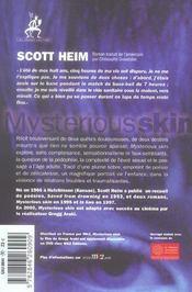 Mysterious Skin - 4ème de couverture - Format classique