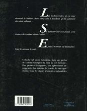 L'Horreur Est Humaine - 4ème de couverture - Format classique
