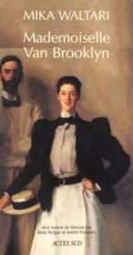 Mademoiselle Van Brooklyn - Recit Traduit Du Finnois - Couverture - Format classique