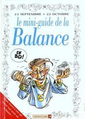 Les mini-guides en bd t.27 ; le mini-guide astro de la balance - Intérieur - Format classique