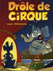 Drôle de cirque - Intérieur - Format classique