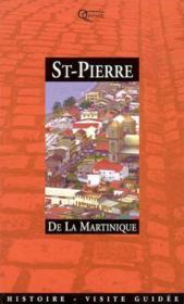 Saint Pierre De La Martinique - Couverture - Format classique