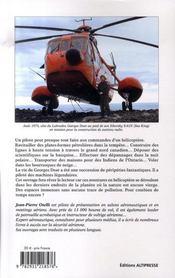 Pilote d'hélicoptère - 4ème de couverture - Format classique