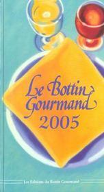 Le Bottin Gourmand 2005 - Intérieur - Format classique