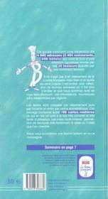Le Bottin Gourmand 2005 - 4ème de couverture - Format classique