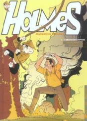 Holmes, detective monkey t.1 ; l'origine des especes - Couverture - Format classique