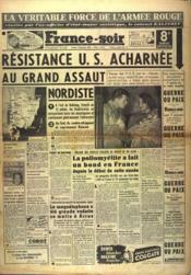France Soir 8 Eme Edition N°1895 du 02/09/1950 - Couverture - Format classique