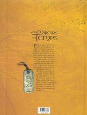 Les Miroirs Du Temps T.1; Le Retour Des Veilleurs - 4ème de couverture - Format classique