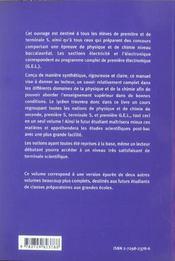 Preparer Son Bac En Sciences Physiques - 4ème de couverture - Format classique