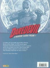 Daredevil t.3 ; underboss - 4ème de couverture - Format classique