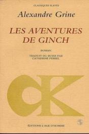 Aventures De Ginch (Les) - Couverture - Format classique