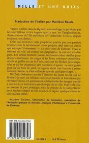 Venise engloutie ; essai subjectif sur l'âme de Venise - 4ème de couverture - Format classique