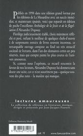 Anthologie de la fessée et de la flagellation - 4ème de couverture - Format classique